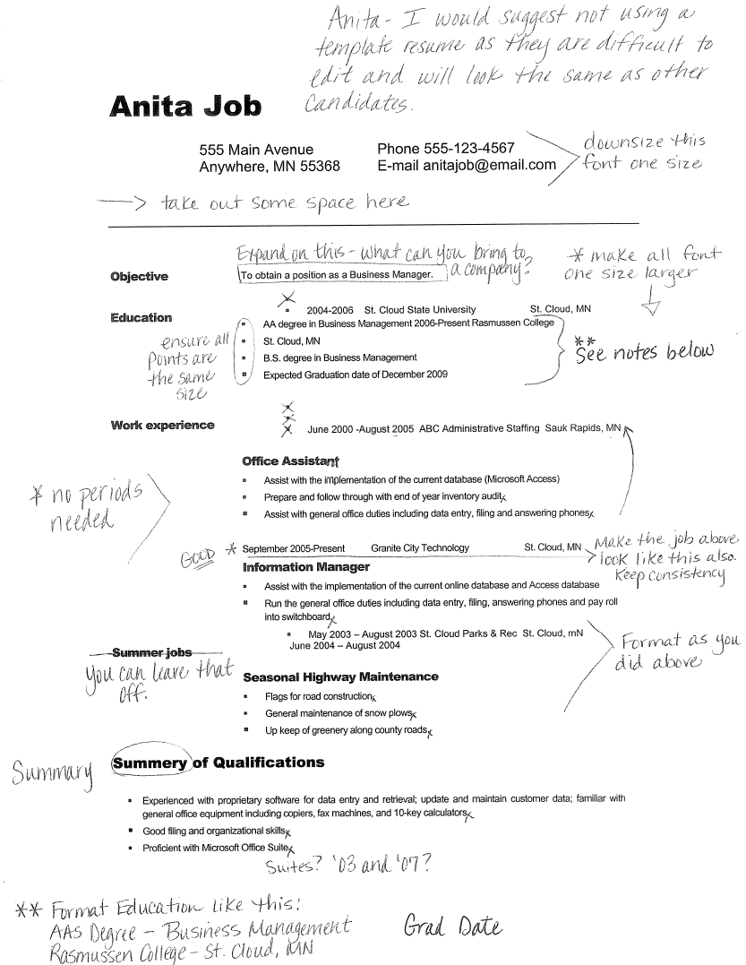 10 Most Popular Summer Job Ideas For College Students good resume examples for college students sample resumes http 2021