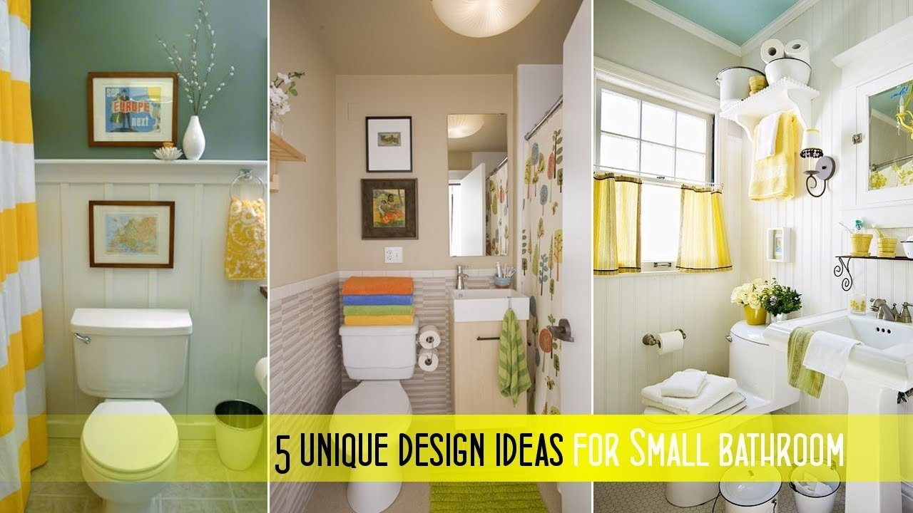 10 Perfect Decorating Ideas For Small Bathrooms good small bathroom decorating ideas youtube 1 2020