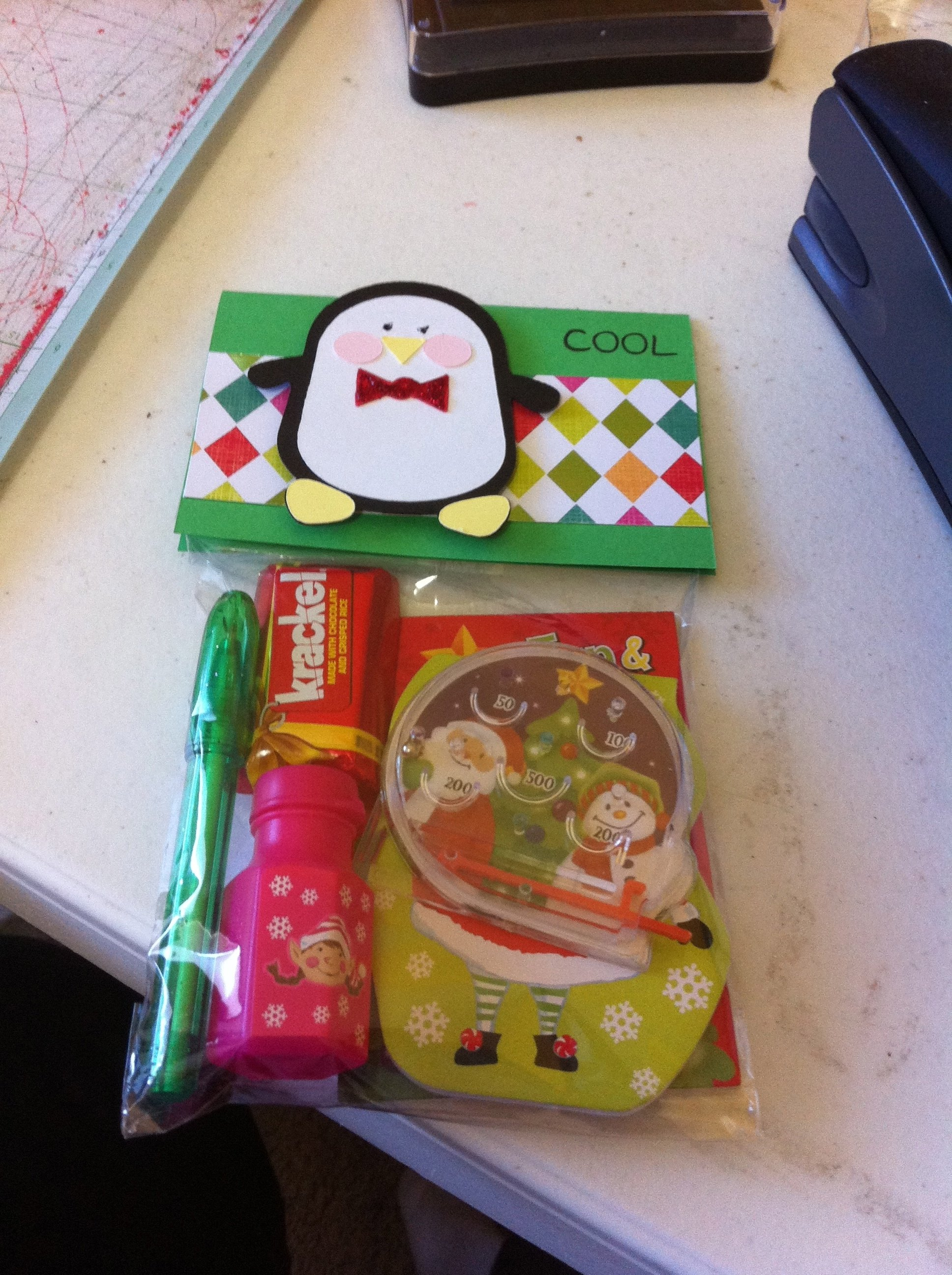 10 Attractive Christmas Gift Ideas For Students goodie bags i made for my daughters classmates for christmas 2021