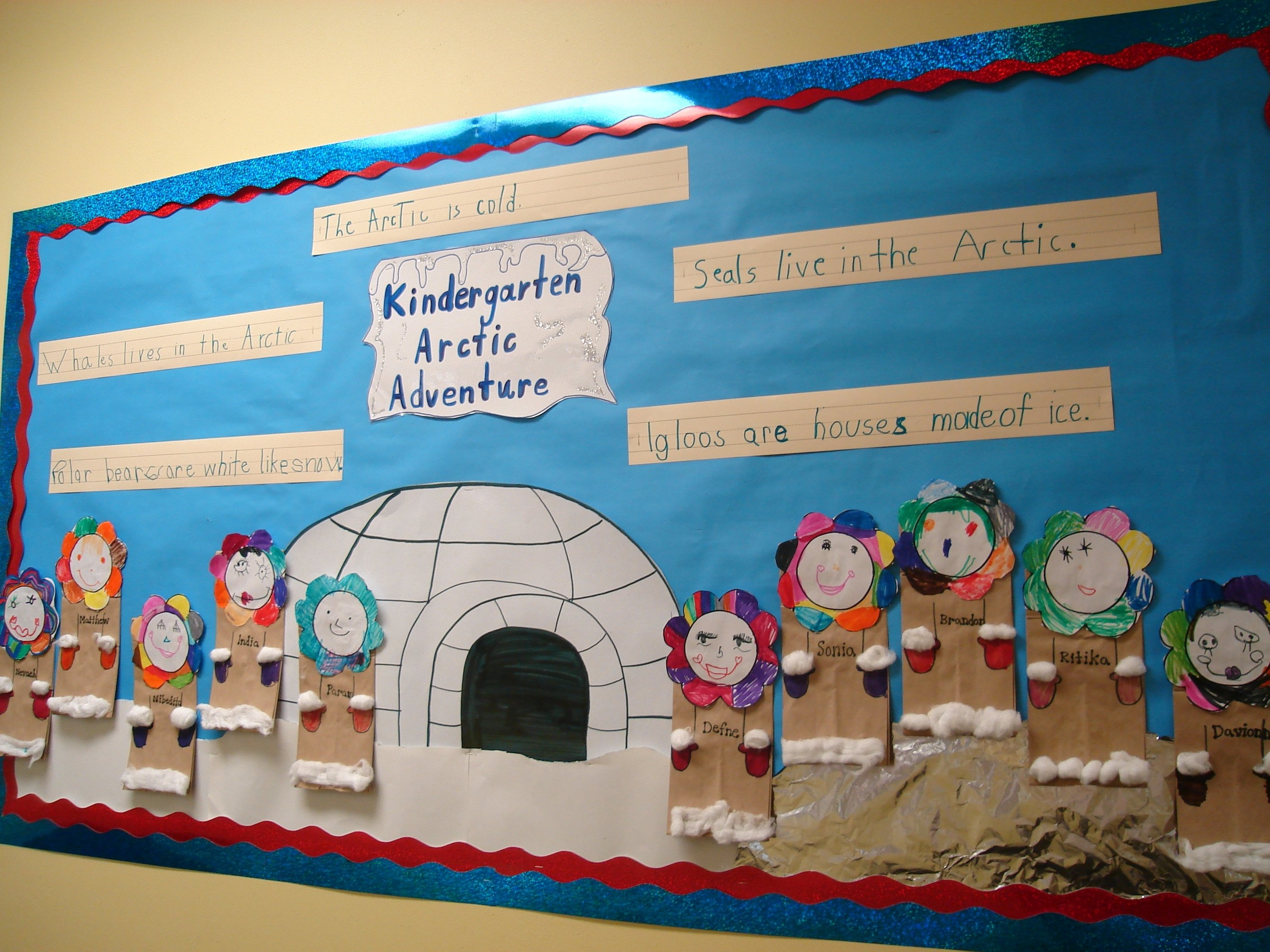 10 Gorgeous Winter Wonderland Bulletin Board Ideas google image result for http lilteacher mypictures arctic 2021