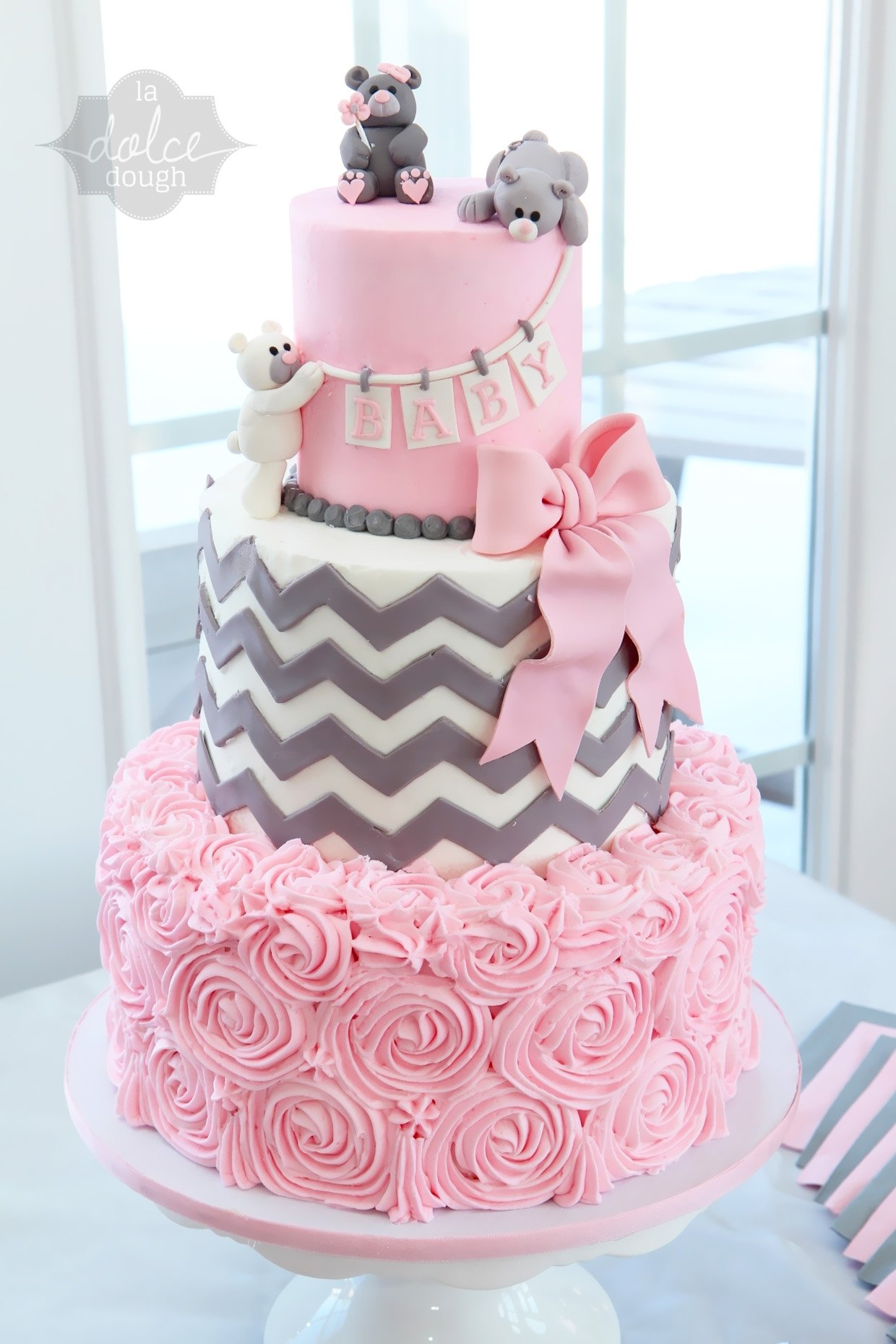10 Beautiful Girl Baby Shower Cake Ideas gorgeous baby shower cakes stay at home mum 6