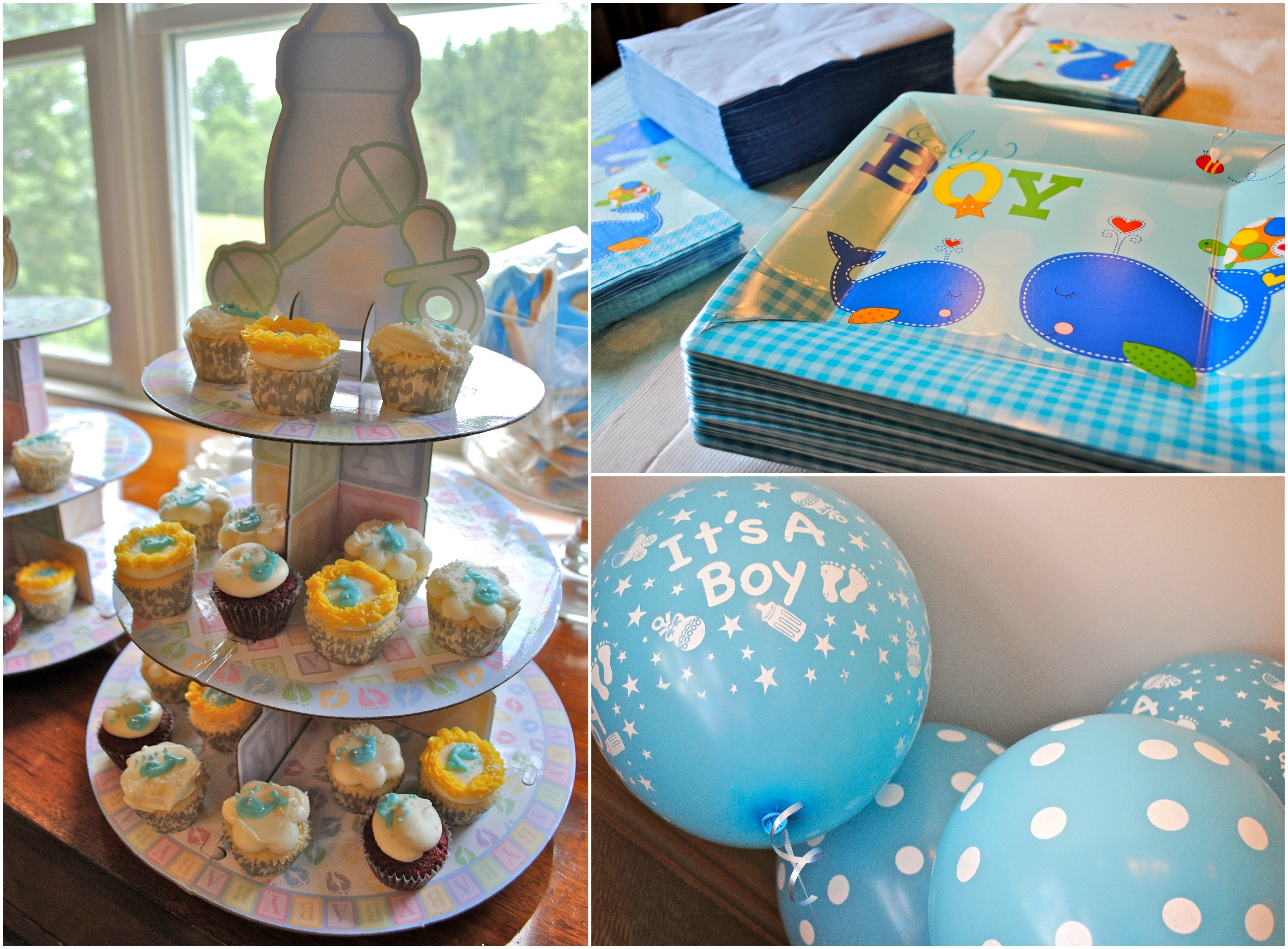 10 Lovable Boy Themed Baby Shower Ideas gorgeous dining room outdoor long dinning table decoration for baby 2020
