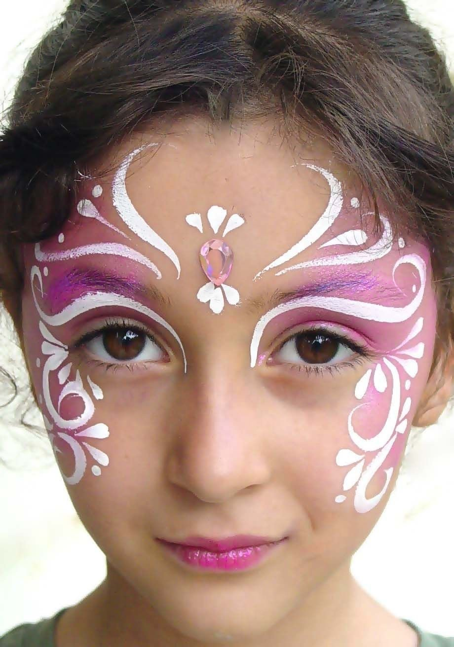 10 Lovely Face Paint Ideas For Girls gorgeous fairy face painting i did this for beanie to go to a 1 2020