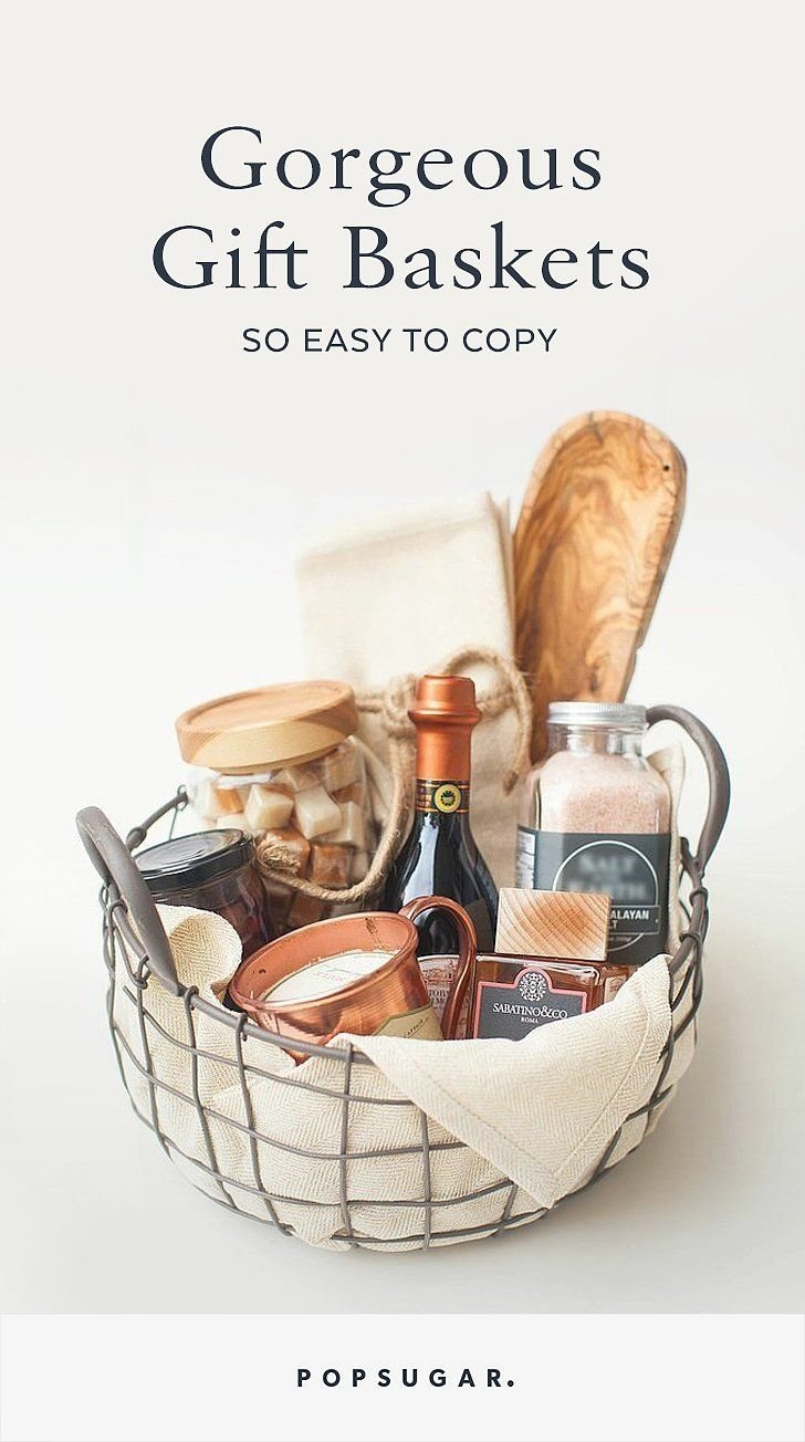 10 Fashionable Ideas For A Gift Basket gorgeous gift baskets so easy to copy its ridiculous easy gift 2020