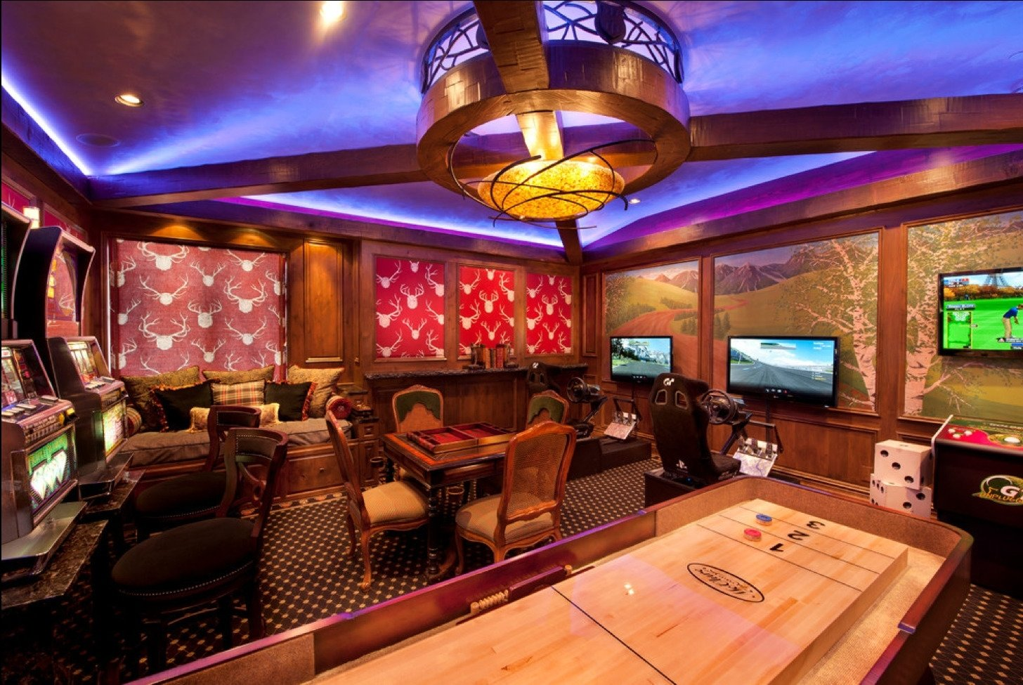 10 Gorgeous Game Room Ideas For Adults gorgeous image basement game room ideas game room ideas video room