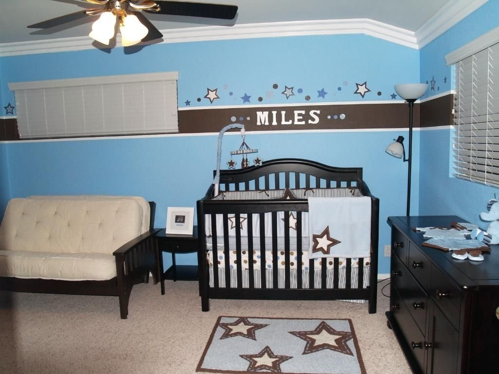 10 Trendy Baby Boy Paint Ideas For Room gorgeous little boy bedroom decoration with blue wall paint color 2020