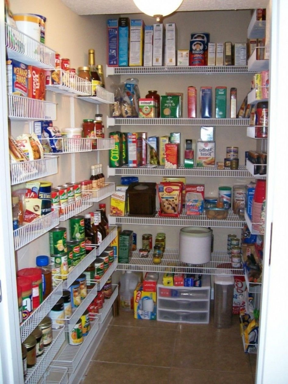 10 Ideal Walk In Pantry Shelving Ideas gorgeous walk in pantry shelving units with wall mounted wire 2020