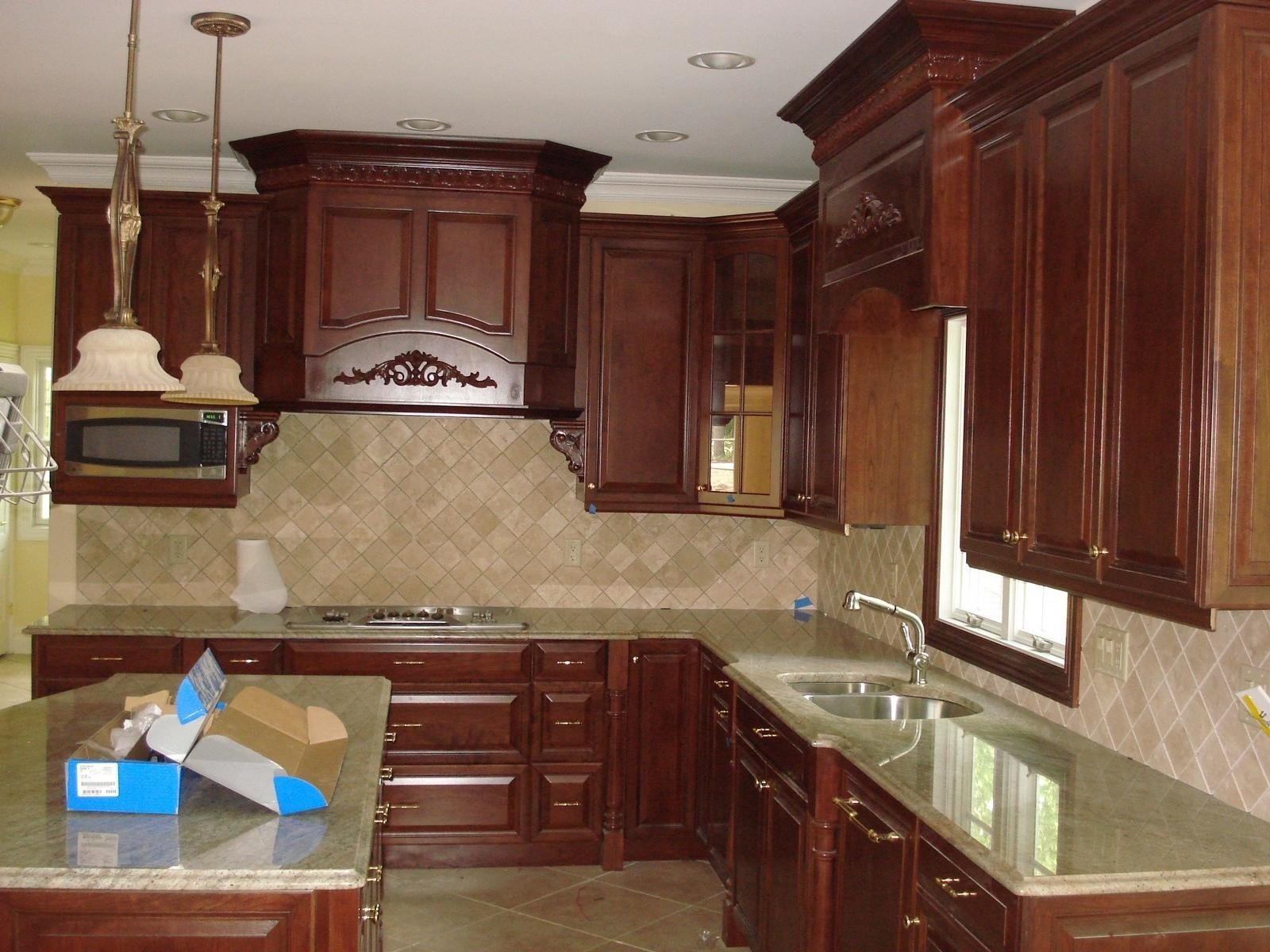 10 Beautiful Kitchen Cabinet Crown Molding Ideas gorgeous white maple kitchen cabinets ideas with crown molding 2020