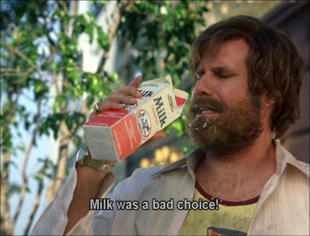 got milk, or not milk?   fresh