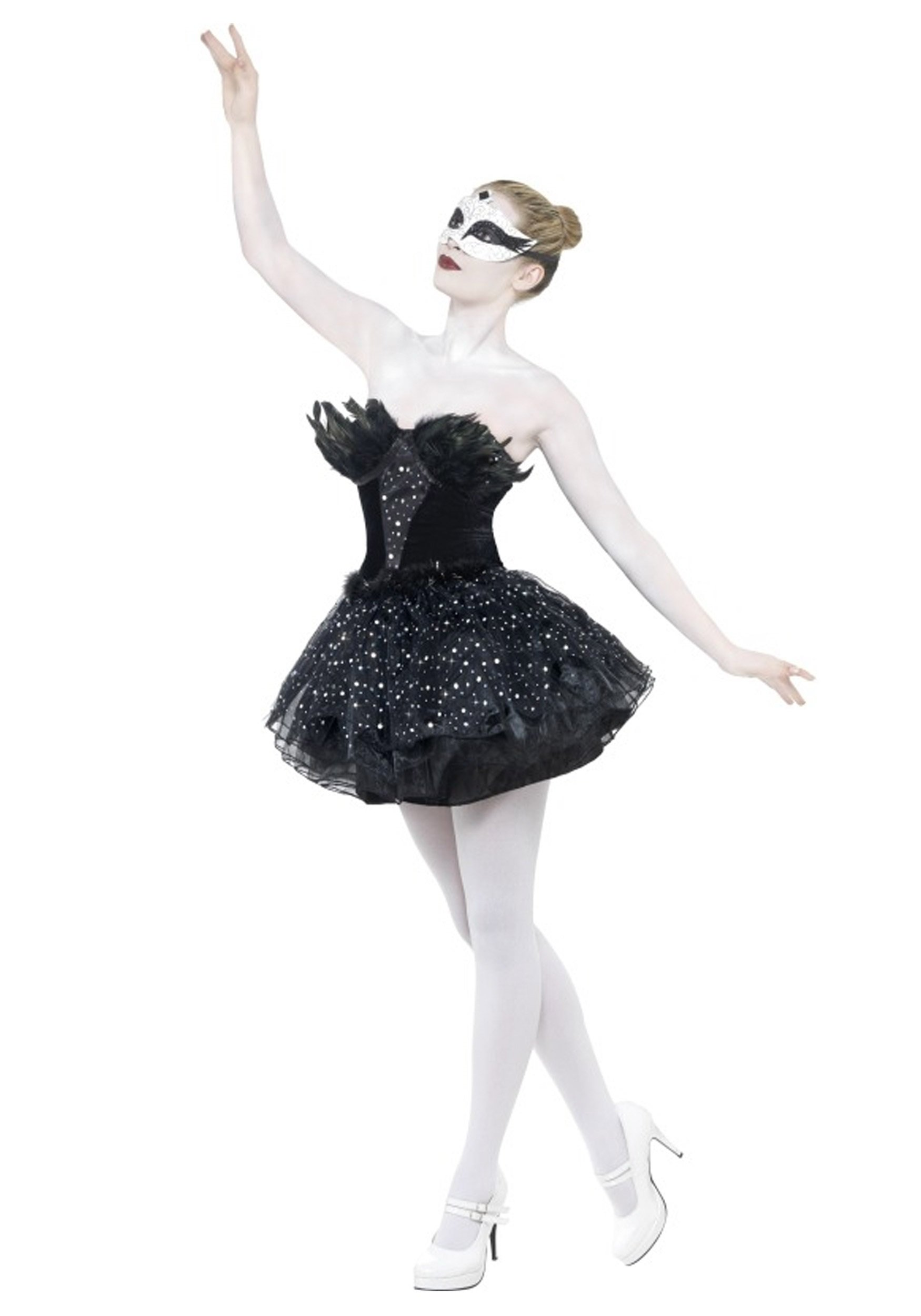 10 Lovable Masquerade Costume Ideas For Women gothic swan masquerade costume 2020