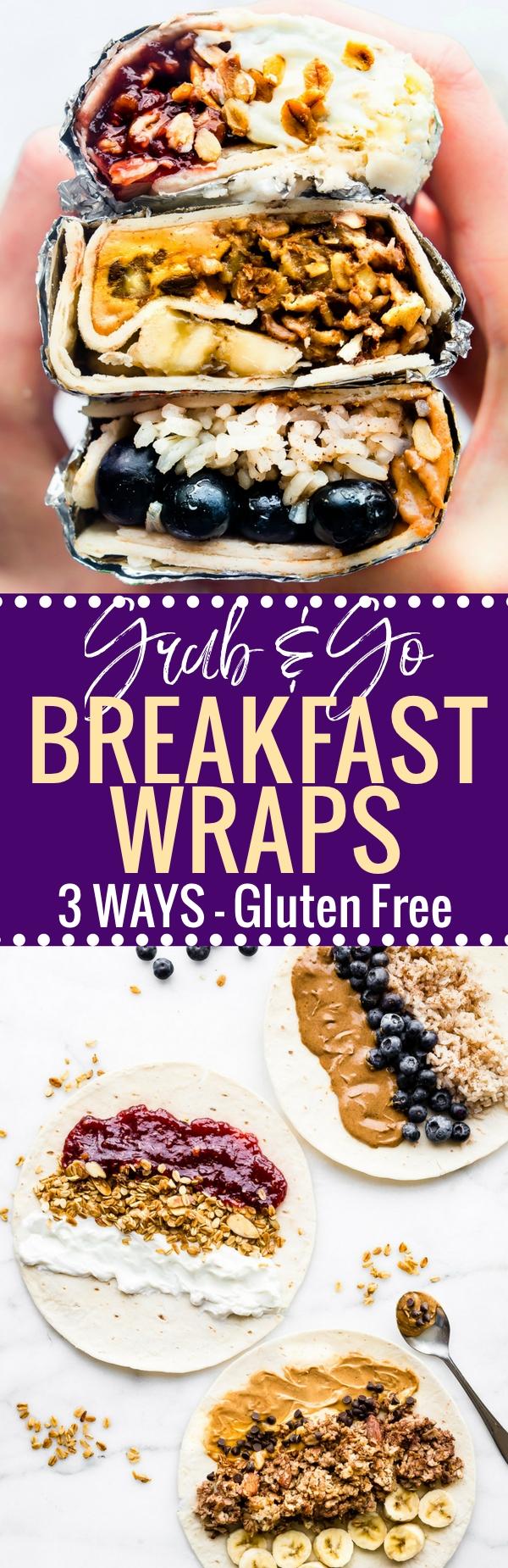 10 Spectacular Gluten Free Breakfast Ideas Quick grab and go gluten free breakfast wraps 3 ways 1 2021