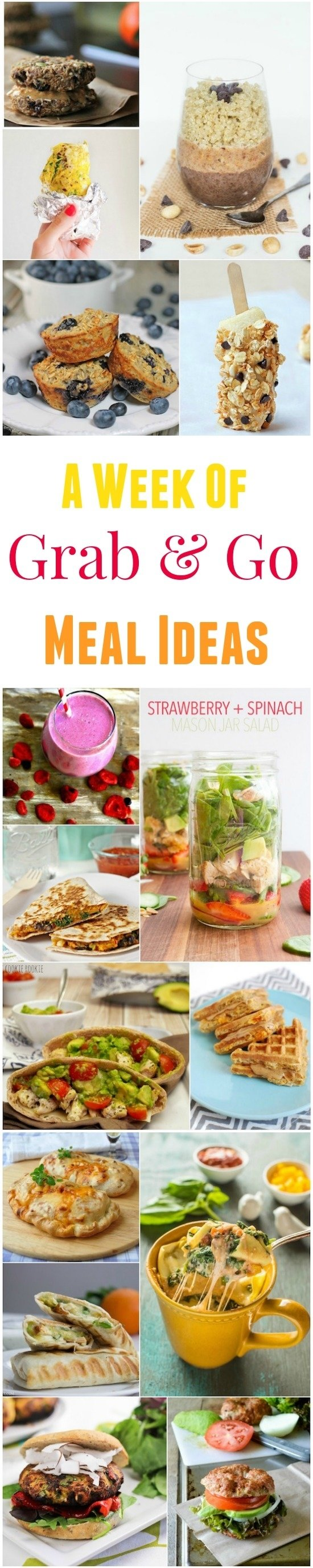10 Stylish Grab And Go Lunch Ideas grab and go meals 2020