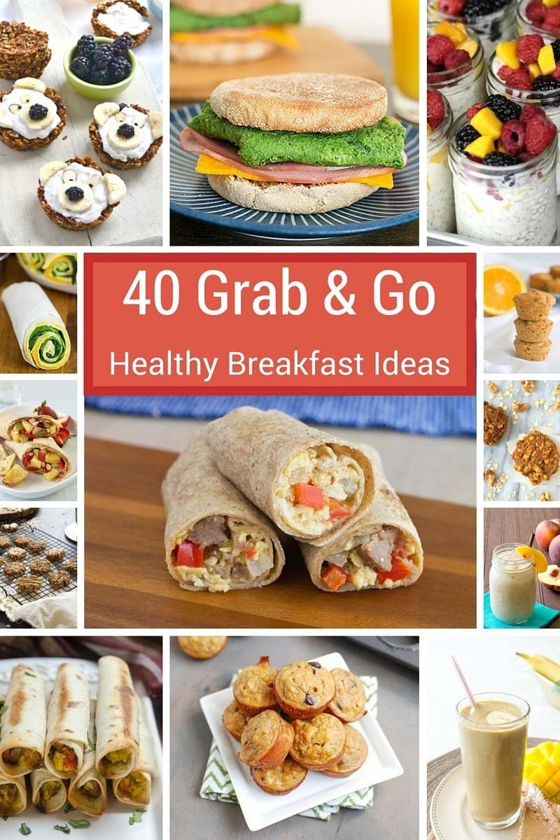 10 Attractive Grab And Go Breakfast Ideas grab n go breakfasts for busy mornings produce for kids 1 2021