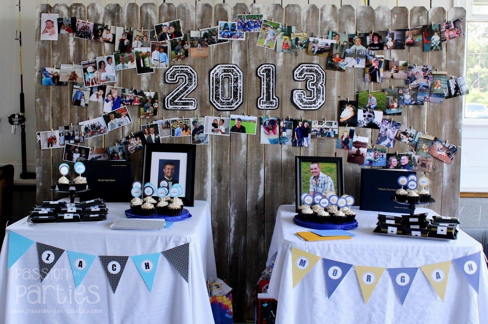 10 Fabulous Graduation Party Ideas For High School graceful image graduation table decorations graduation decorations