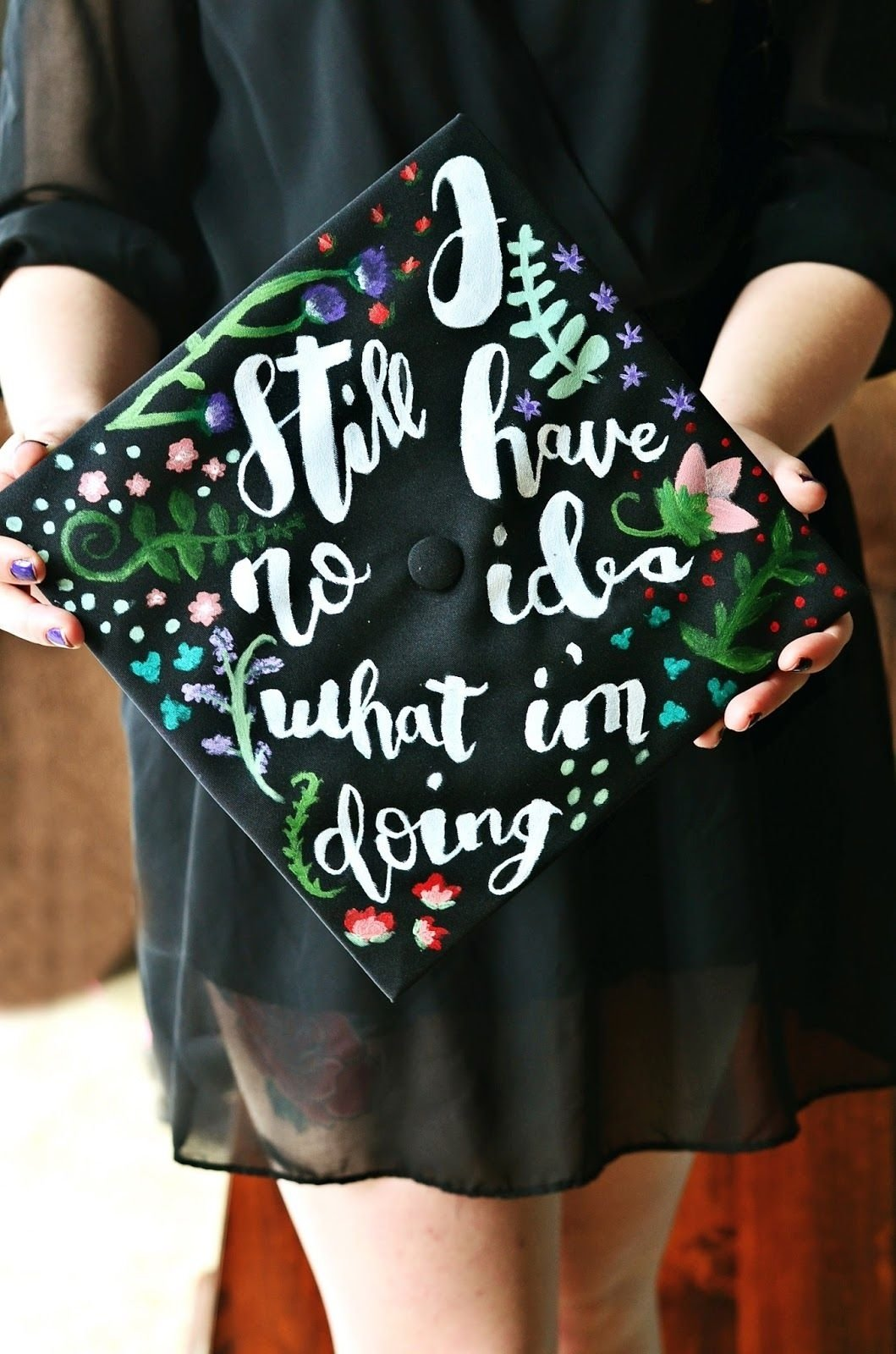 10 Most Recommended College Graduation Cap Decoration Ideas graduation cap decoration idea i still have no idea what im doing 2020