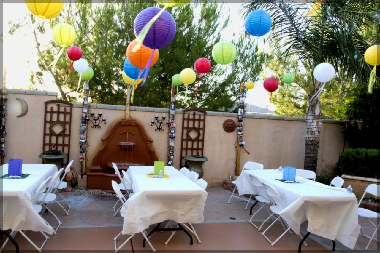 graduation decoration ideas for outdoor party archives backyard