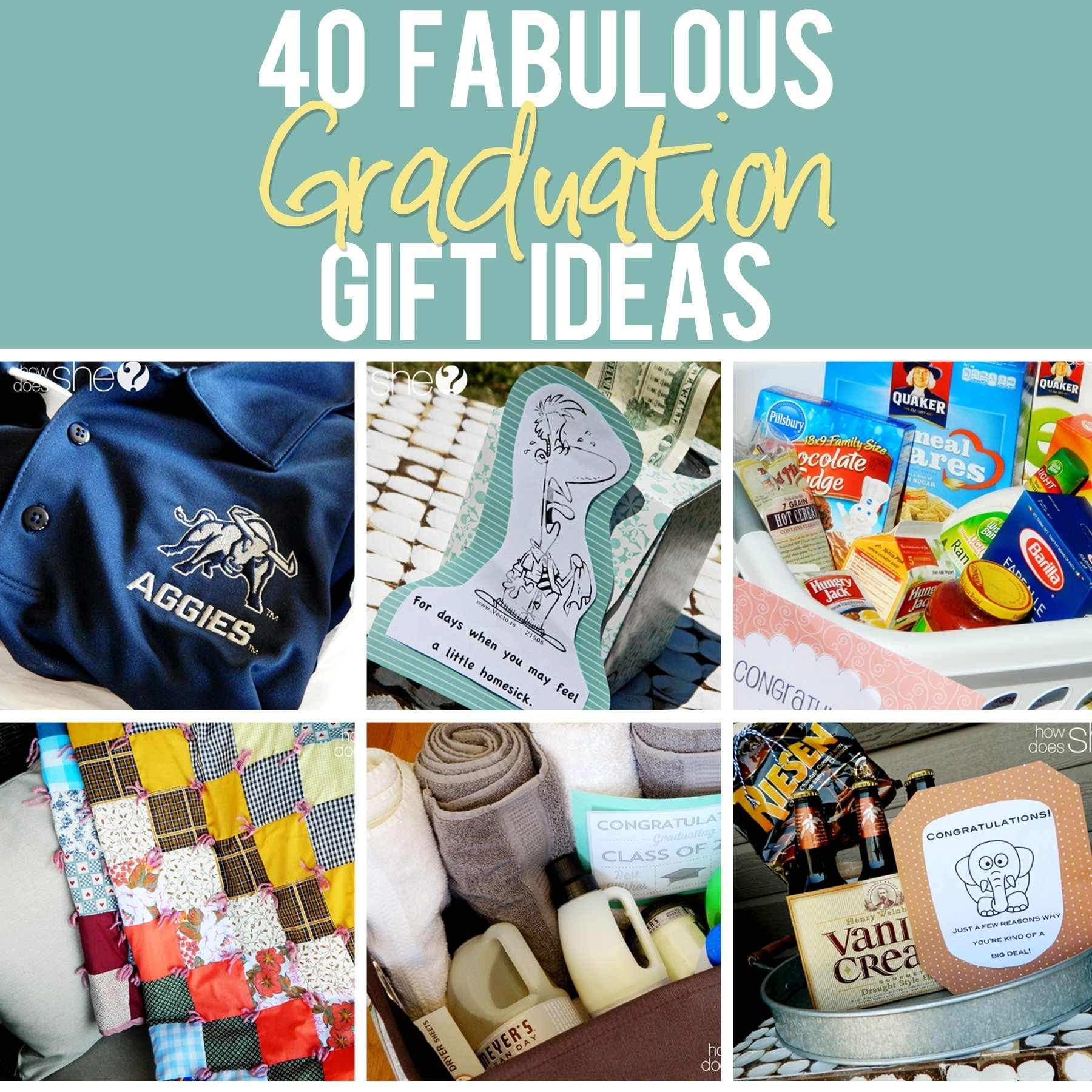 graduation gift ideas that are perfect for any graduate