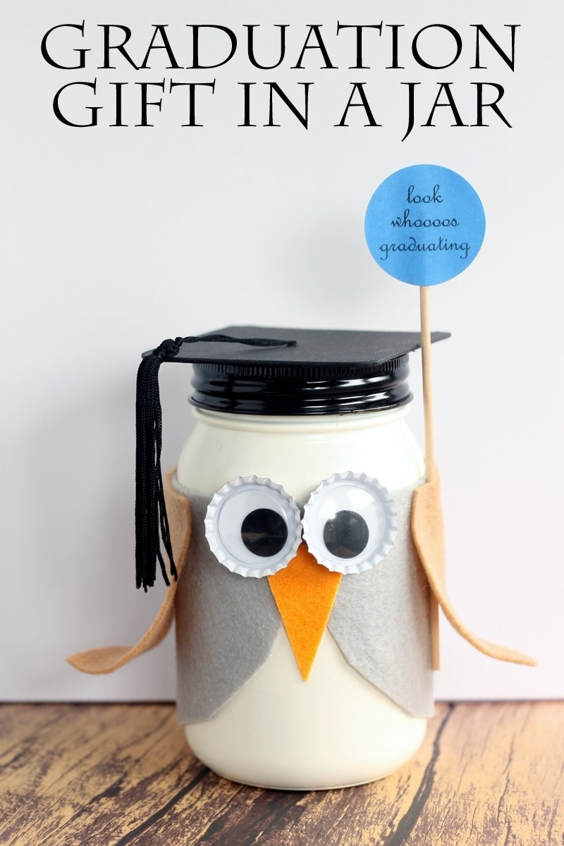 10 Most Popular Creative High School Graduation Gift Ideas graduation mason jar gift the country chic cottage 2020
