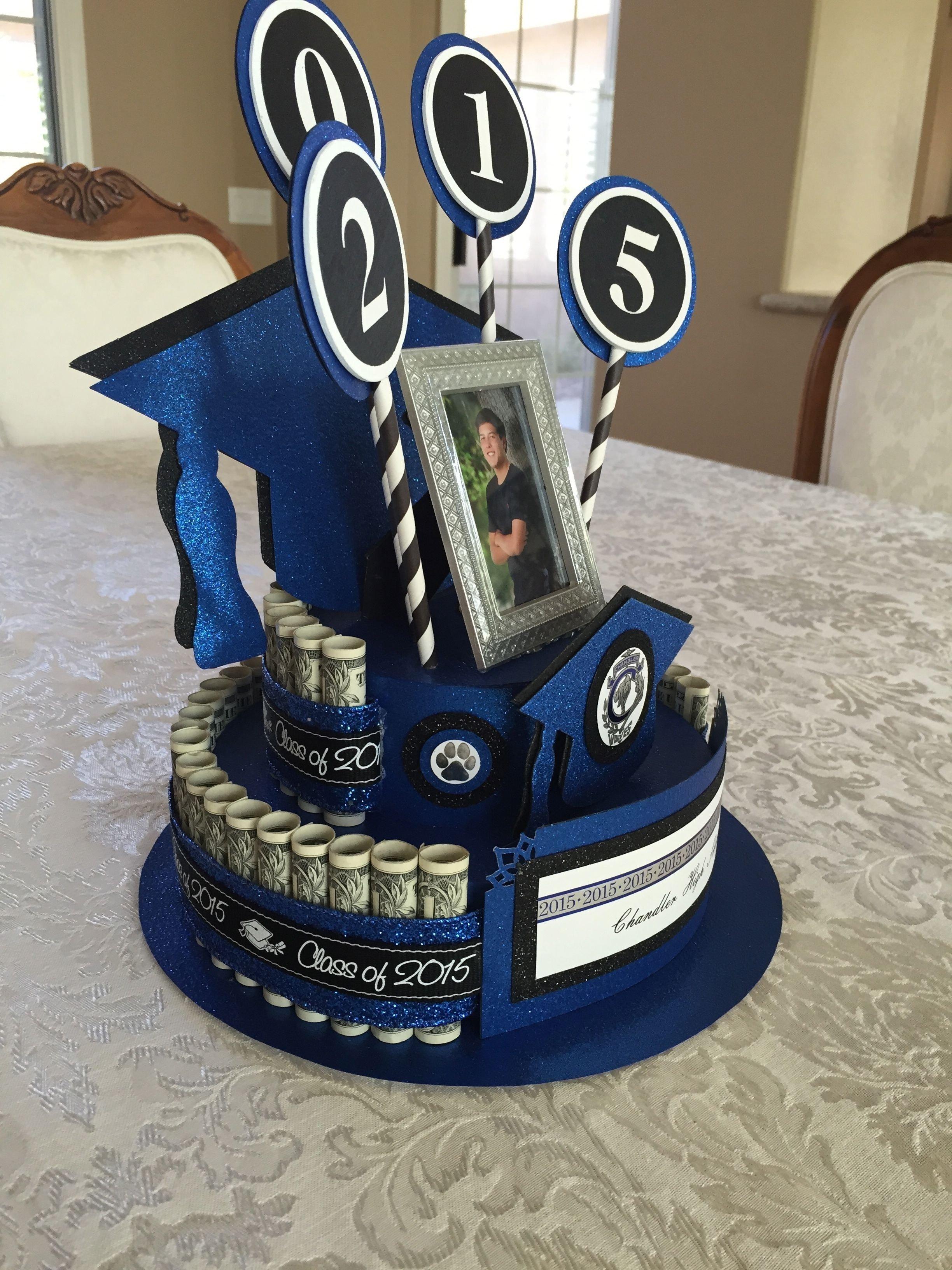 10 Wonderful Graduation Gift Ideas For Son graduation money cake beckys creations pinterest money cake 1 2021