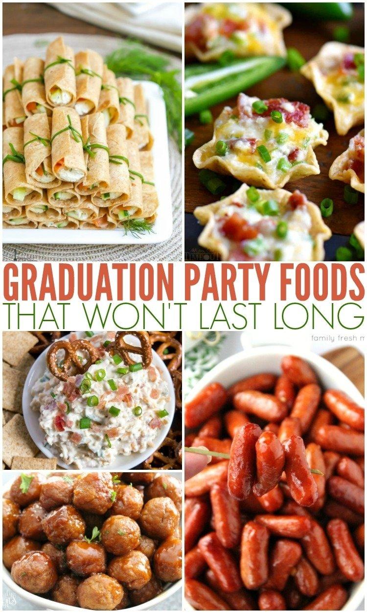 10 Elegant Ideas For Graduation Party Food graduation party food ideas family fresh meals 2 2021