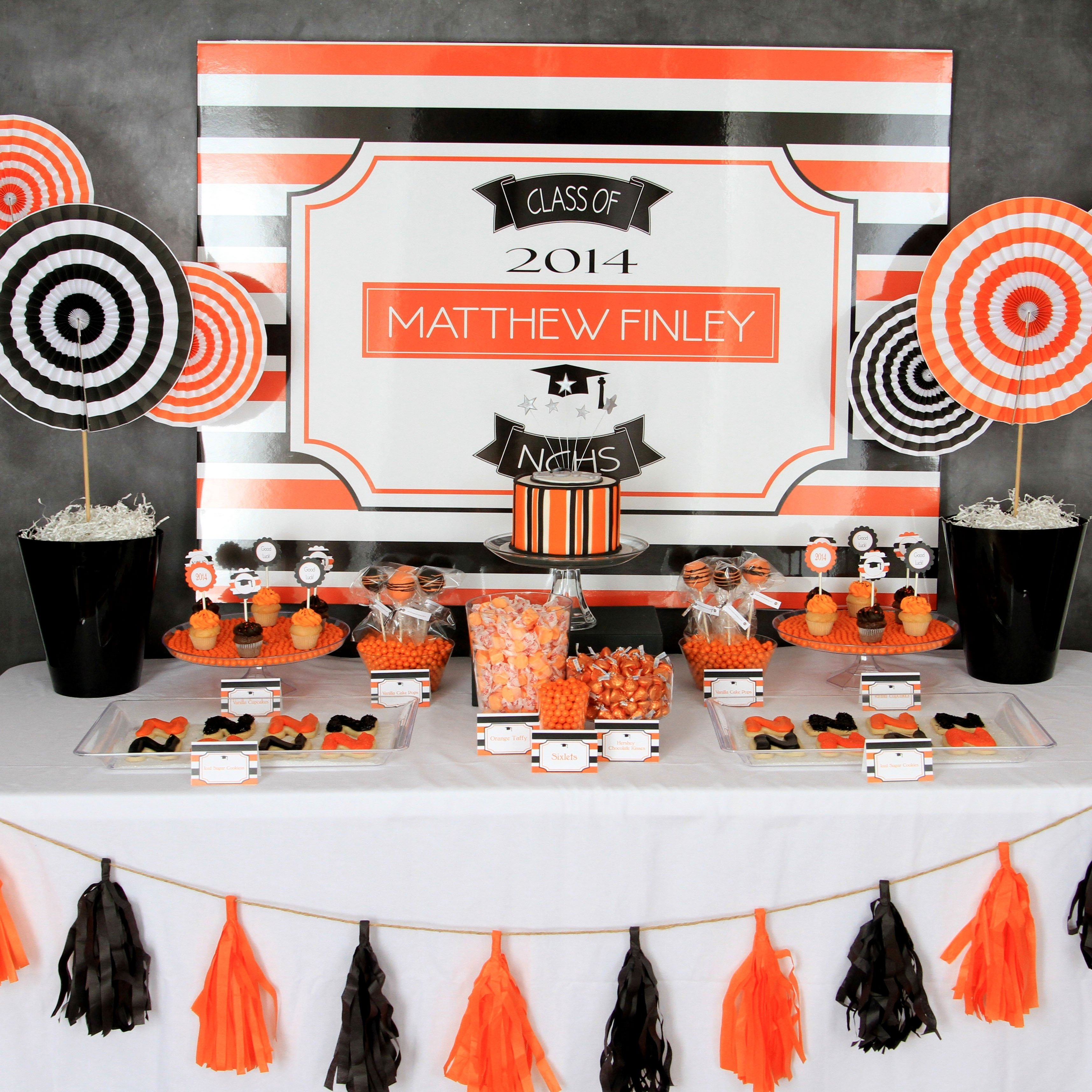 10 Trendy Ideas For A Graduation Party graduation party ideas 2014 sweet table decorations 1
