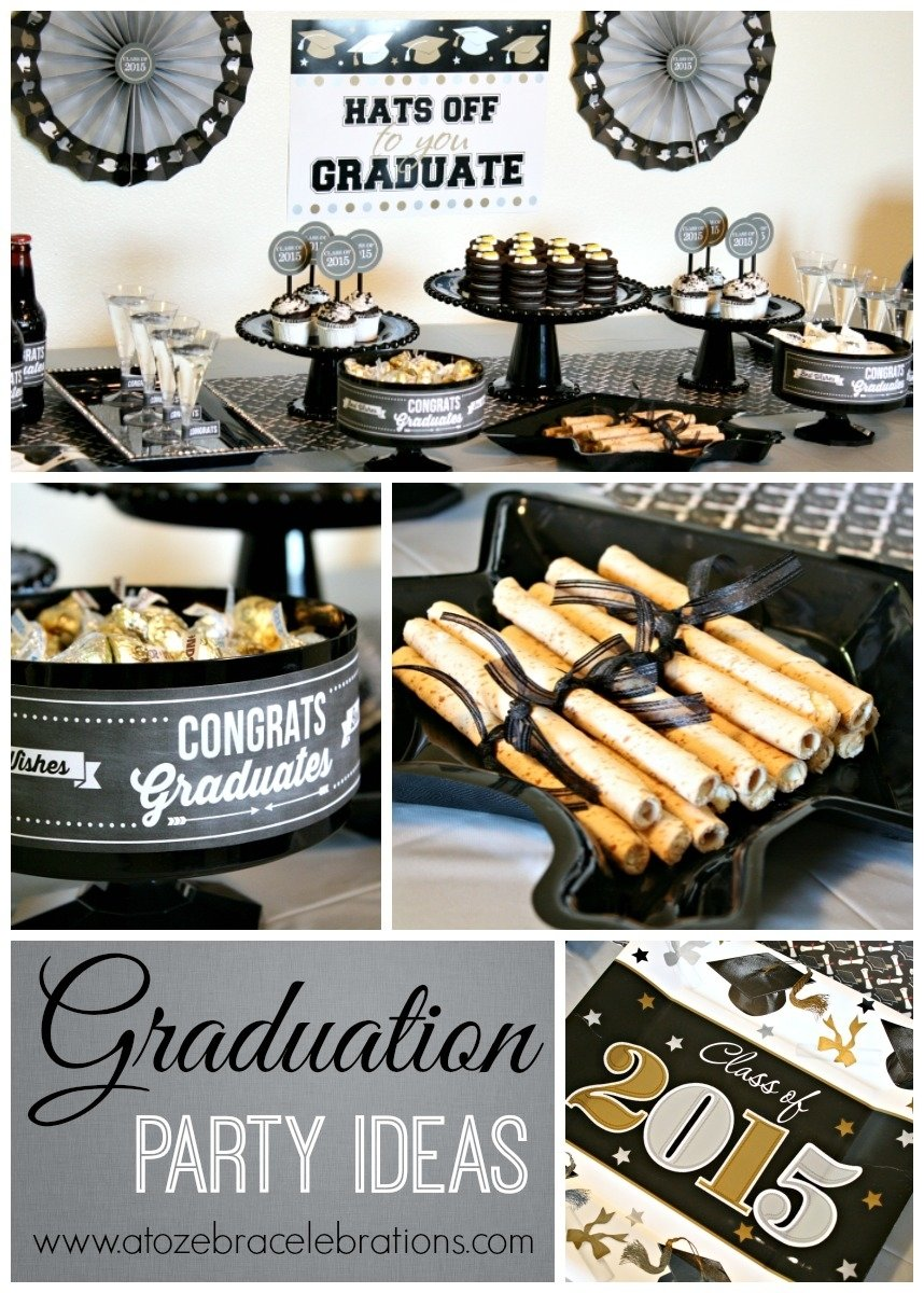 graduation party ideas – a to zebra celebrations