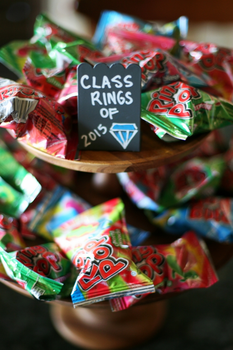 graduation party ideas and printables | clever school, party candy
