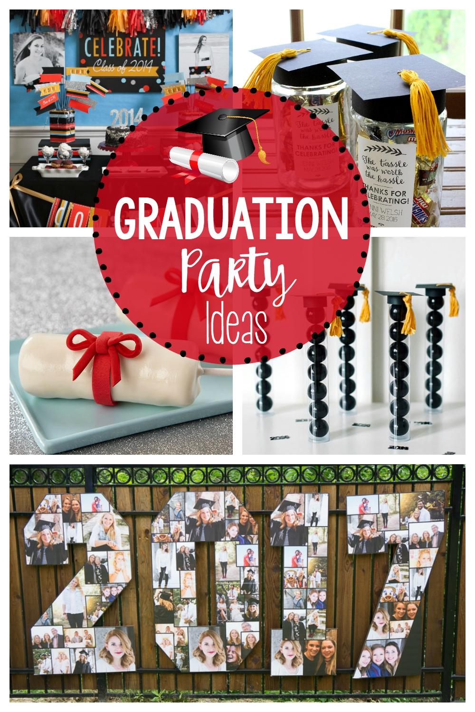 10 Lovable Fun Ideas For Graduation Parties graduation party ideas for grad party fun squared 2020