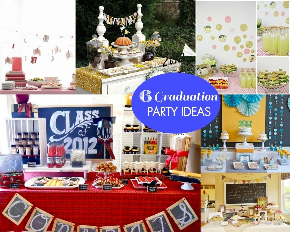graduation party ideas - mirabelle creations