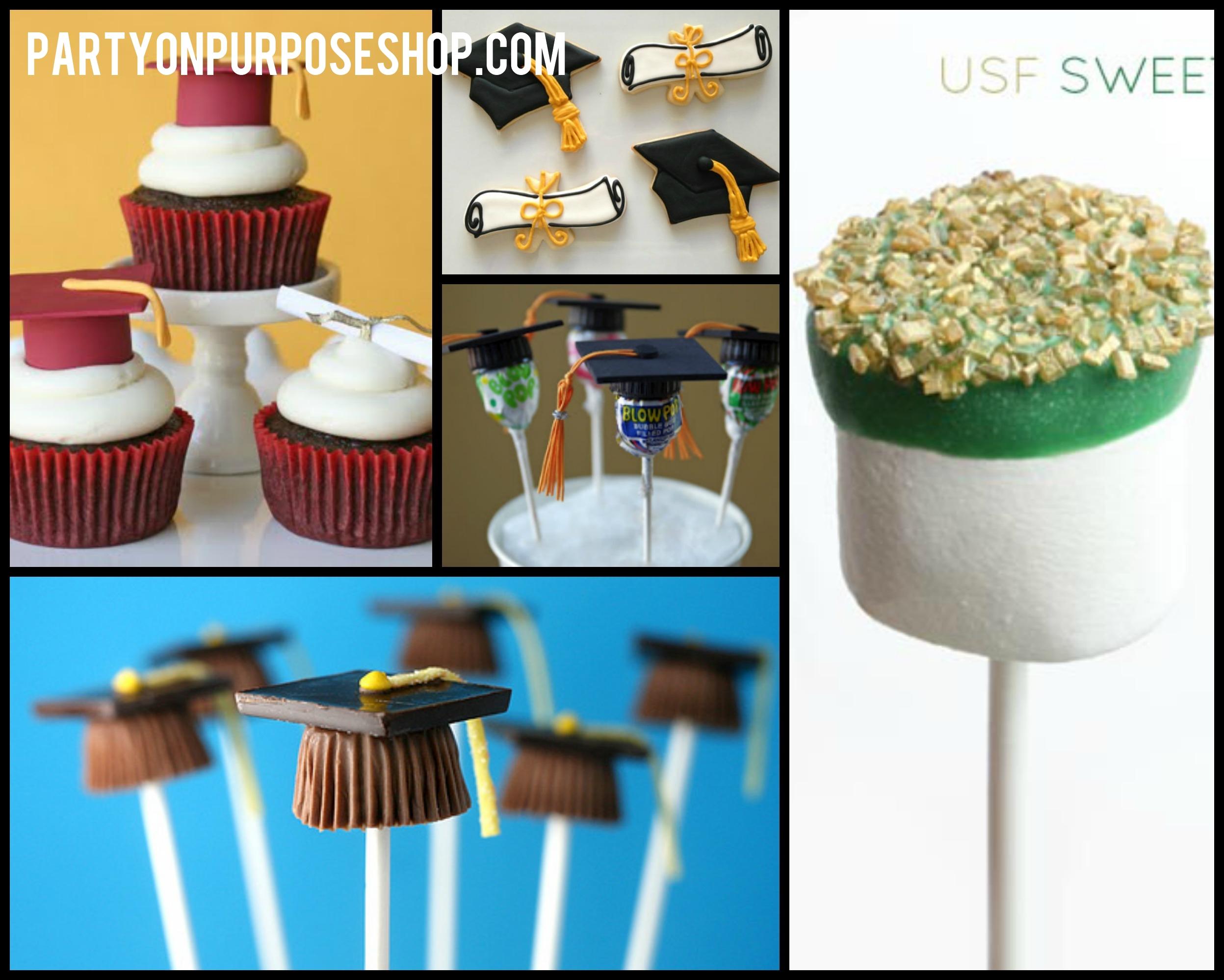 10 Fabulous Food Ideas For Graduation Party graduation party week food and drink ideas party on purpose 1