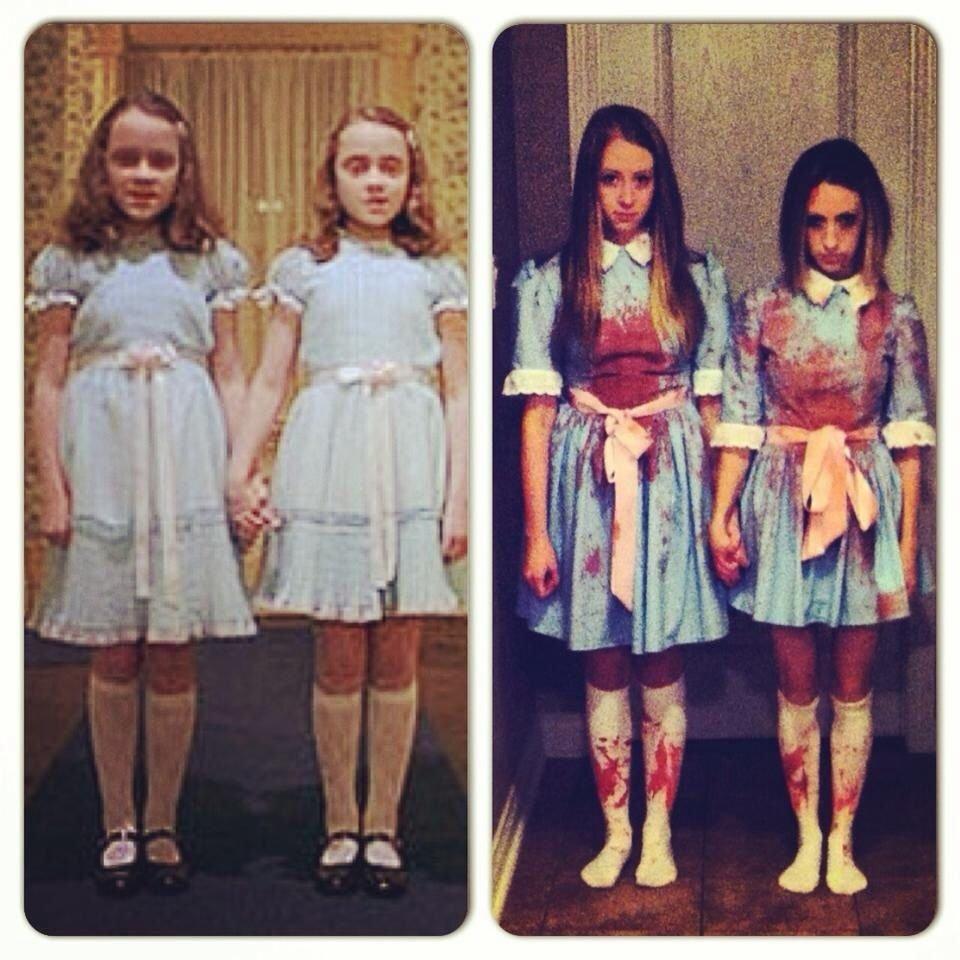 10 Nice Best Friend Halloween Costume Ideas grady twins best friend halloween costume idea mandis pins 2020
