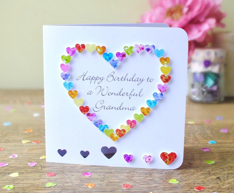 10 Attractive Birthday Card Ideas For Grandma grandma birthday card handmade personalised birthday card for gran