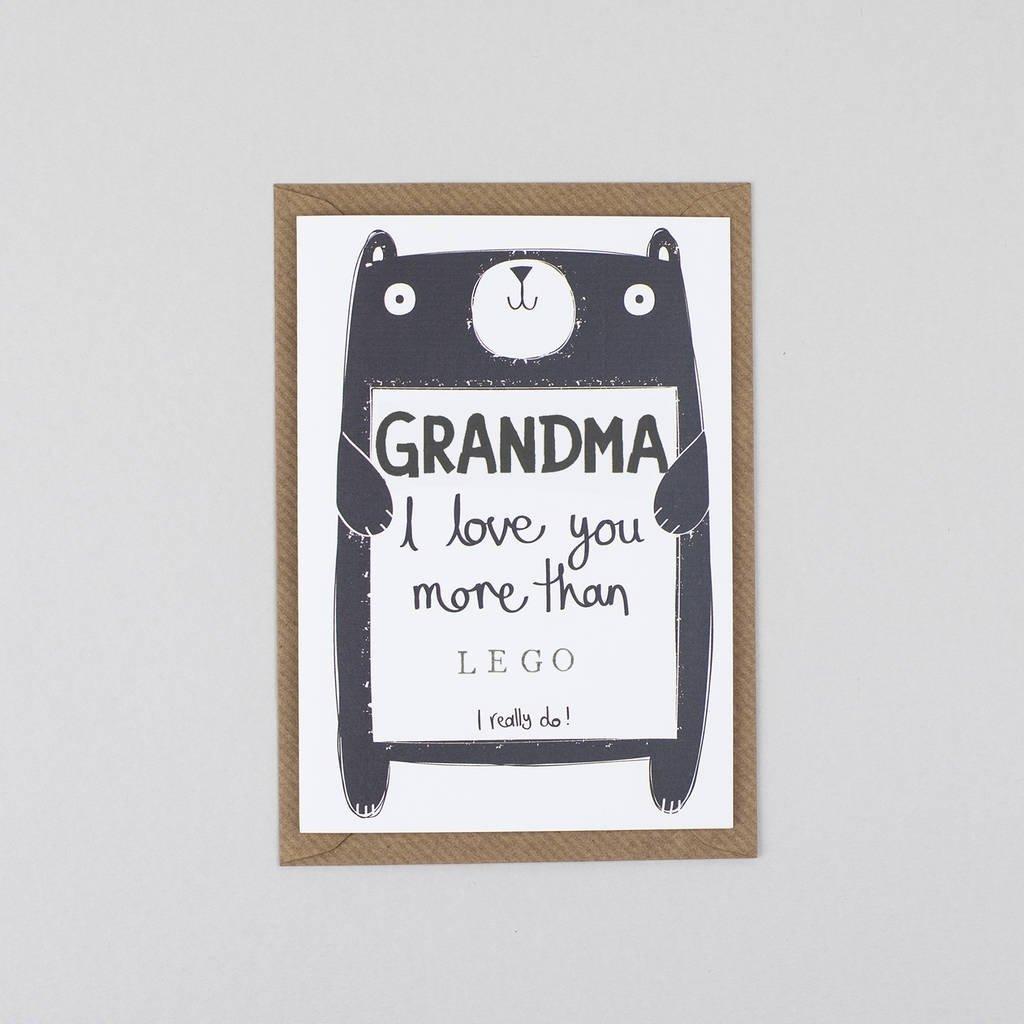 10 Attractive Birthday Card Ideas For Grandma grandma gran nana or granny birthday cardtandem green