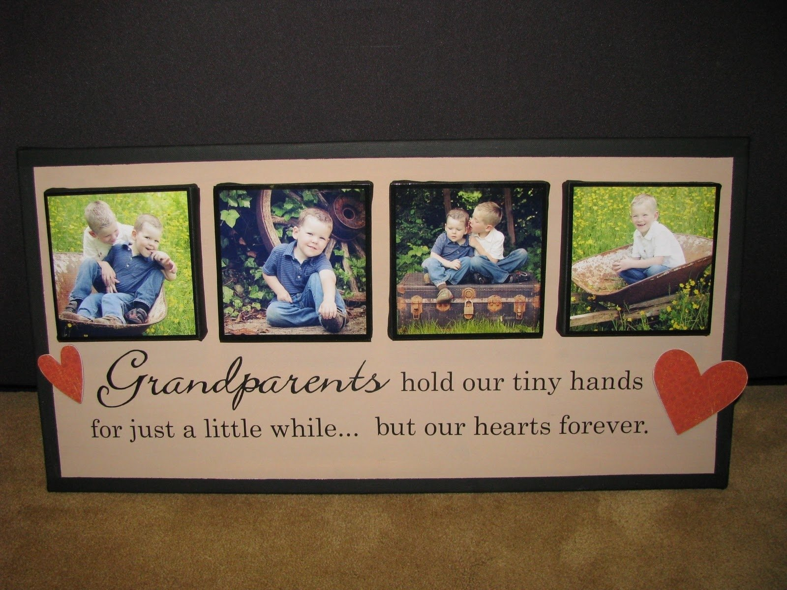 10 Fantastic Gift Ideas For New Grandparents grandparents homemade christmas gifts great gift ideas that 7