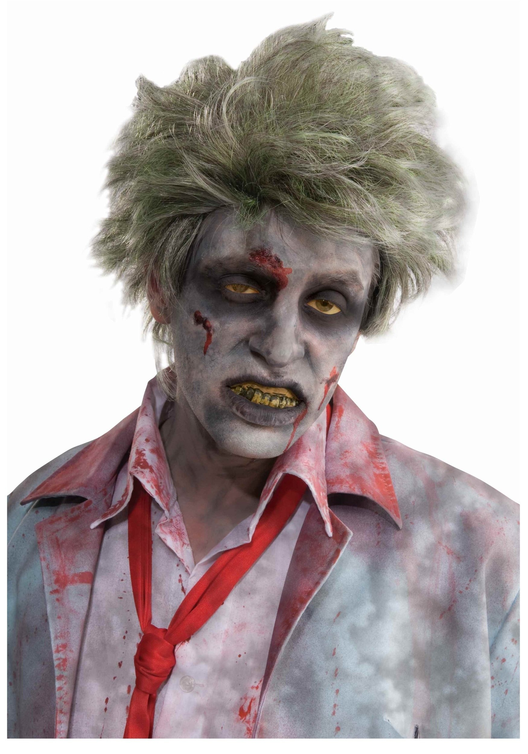 10 Fashionable Zombie Costume Ideas For Men graveyard zombie wig scary zombie costume accessory 2020