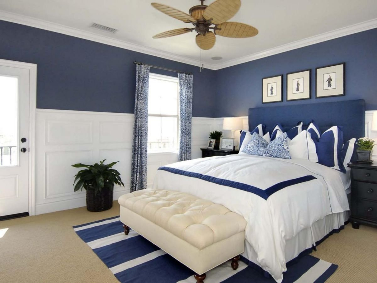 10 Stylish Blue And White Bedroom Ideas gray blue and white bedroom ideas visi build 3d new blue and white 2020