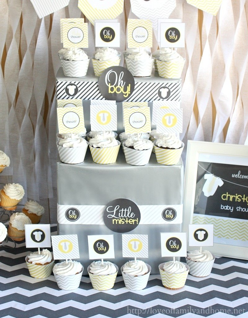 10 Trendy Yellow And Gray Baby Shower Ideas gray yellow baby shower decorating ideas love of family home 2020