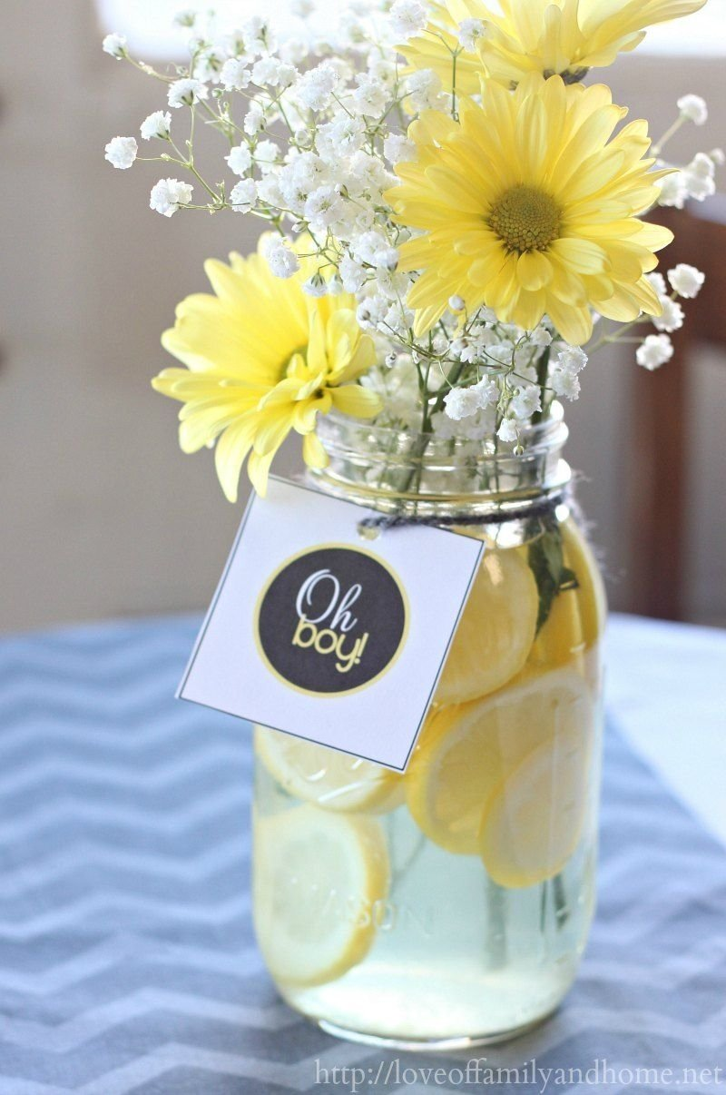 10 Trendy Yellow And Gray Baby Shower Ideas gray yellow baby shower decorating ideas super easy 2020