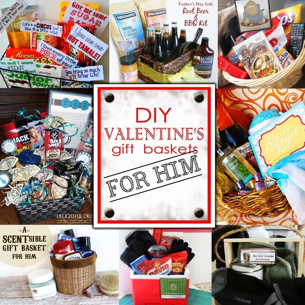 10 Stunning Homemade Valentines Gift Ideas For Him great blog with some nice ideas for year round gift baskets great