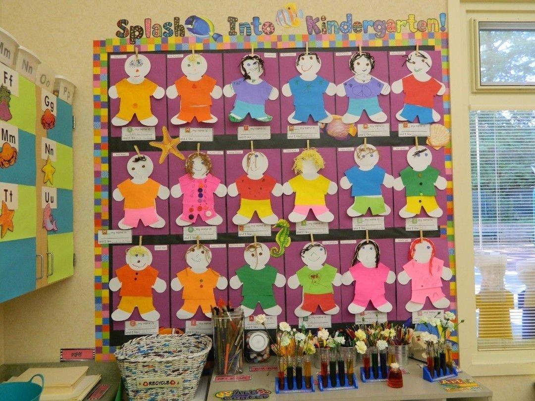 10 Gorgeous Bulletin Board Ideas For Kindergarten great bulletin board idea to welcome kindergarteners splash into 2020