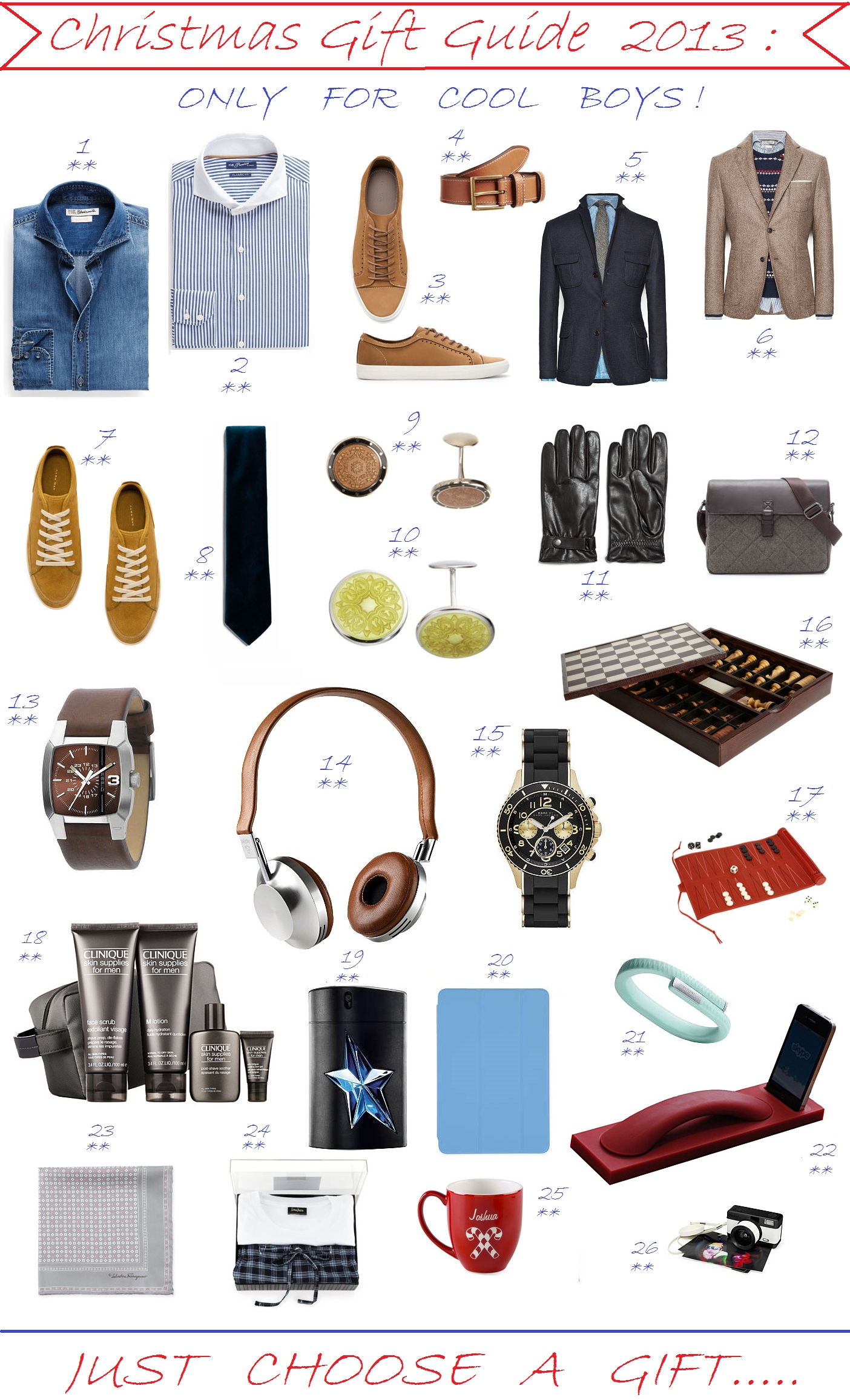10 Fashionable Christmas Gift Ideas For Teenage Guys Great Best