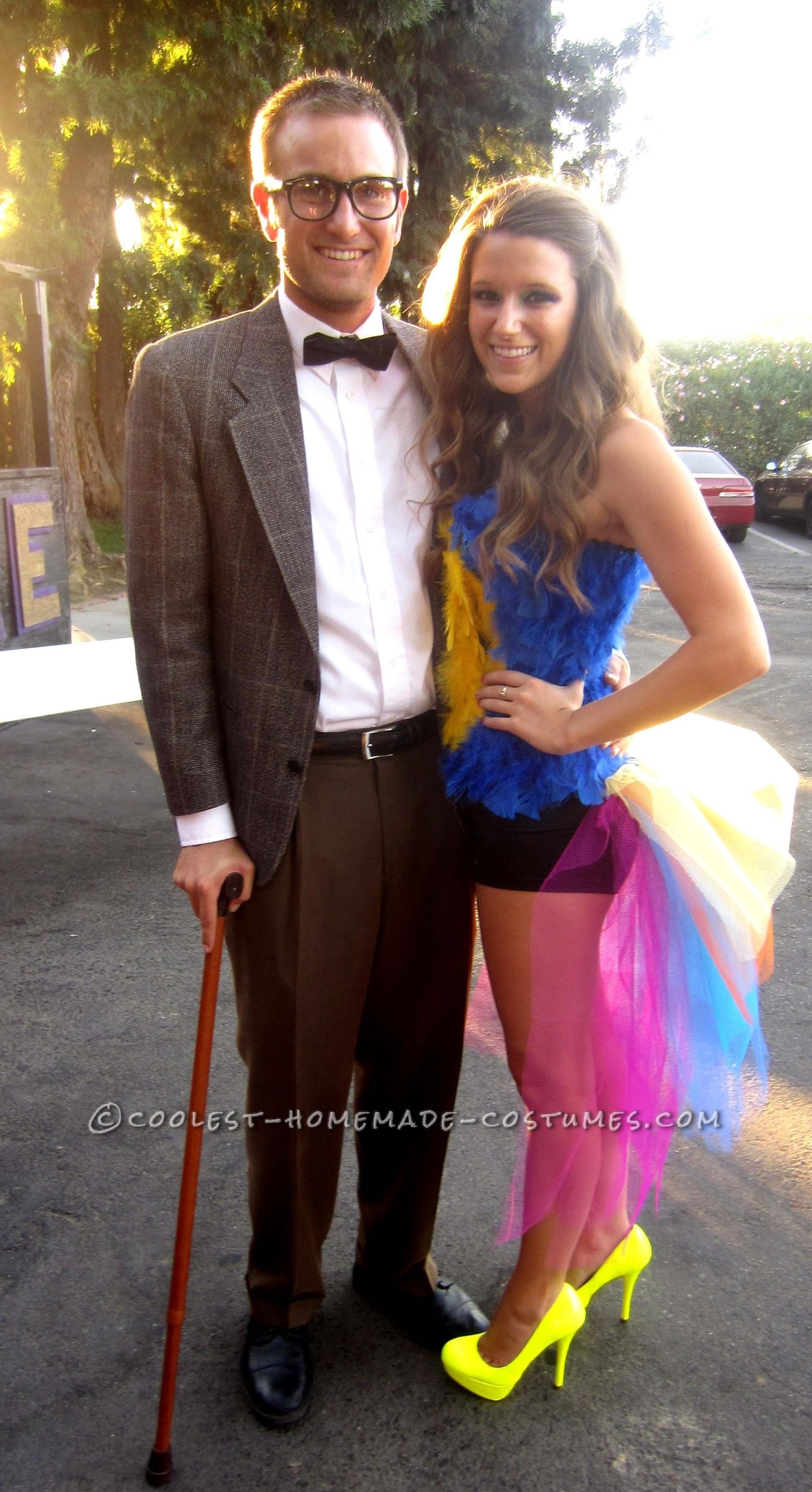 10 Amazing Great Costume Ideas For Couples great couple costume idea kevin and carl from up couple costume 1