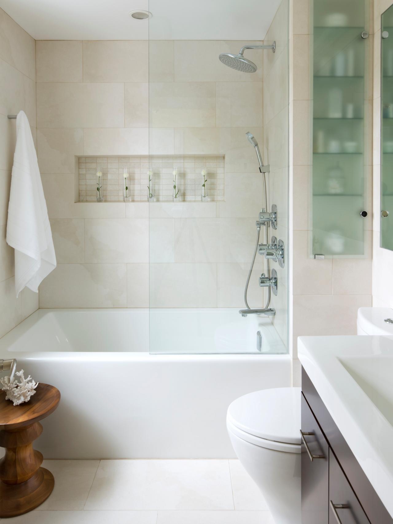 10 Spectacular Bath Ideas For Small Bathrooms