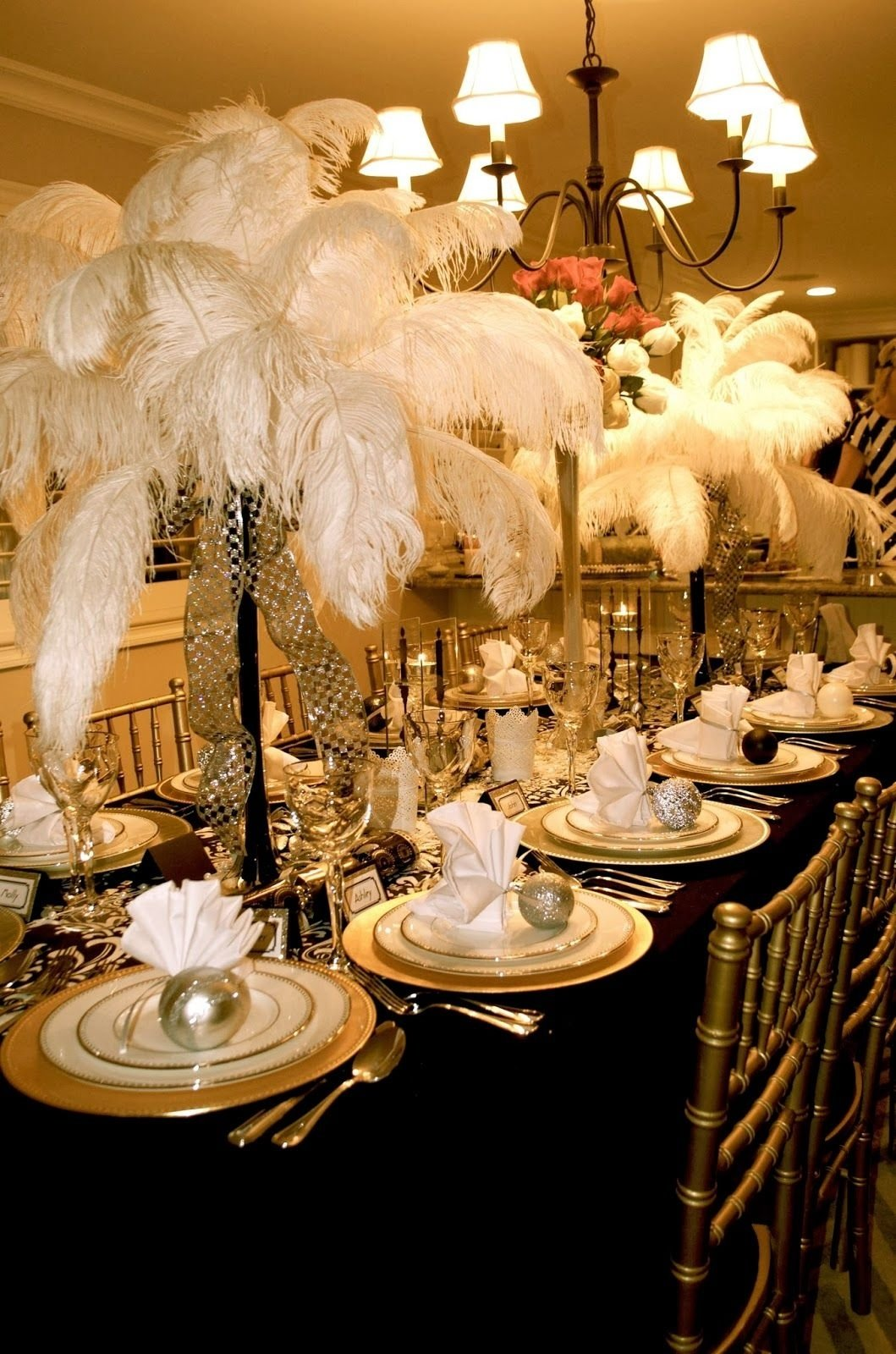 great gatsbypart ii the dress and decorations | tablescapes