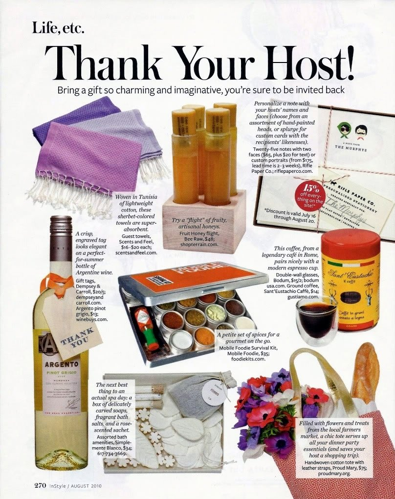 10 Best Hostess Gift Ideas For Dinner Party