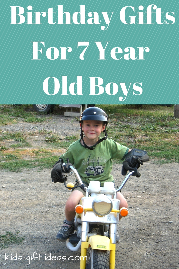 10 Lovely 7 Year Old Boy Birthday Gift Ideas
