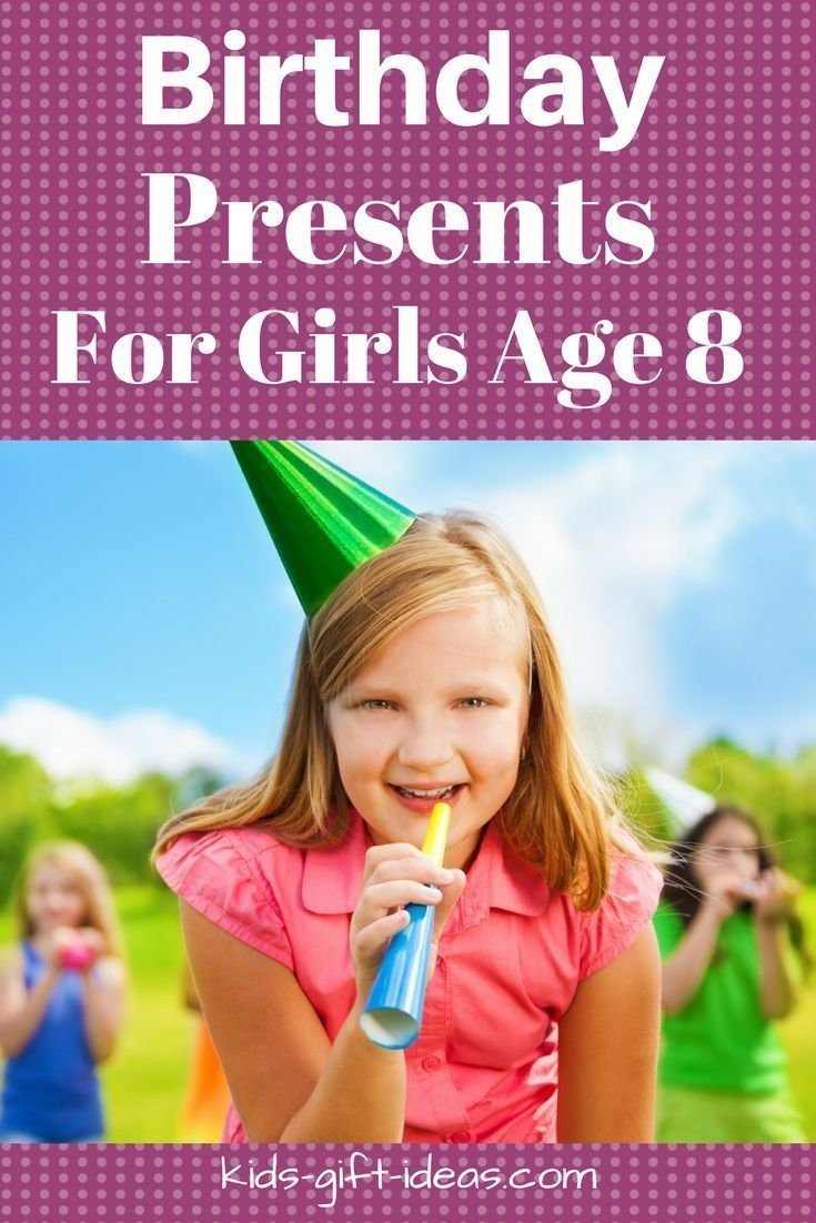 10 Fashionable Gift Ideas For 8 Year Girl