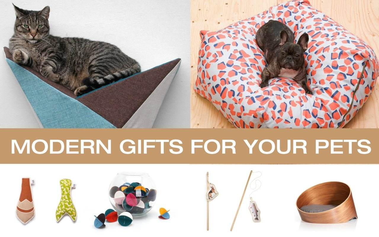 10 Stylish Gift Ideas For Dog Owners great holiday gifts for the modern dog and cat design milk 2020