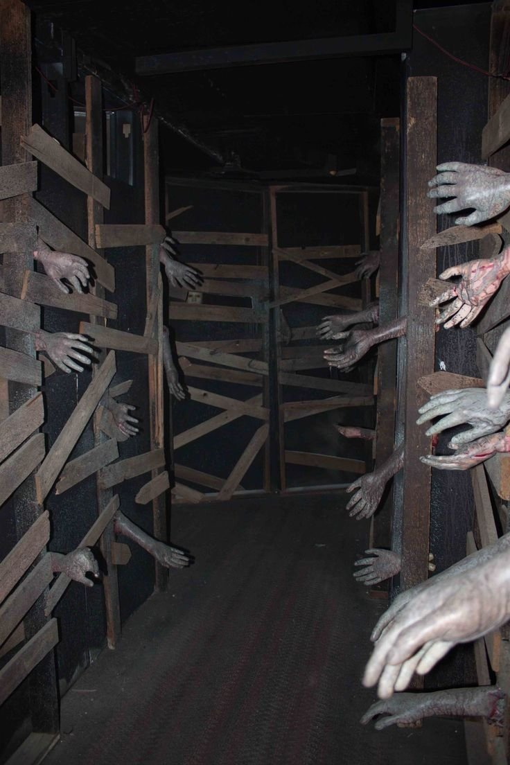 10 Attractive Haunted House Ideas For Halloween great idea for haunted house the real trick is to have a false wall 2020