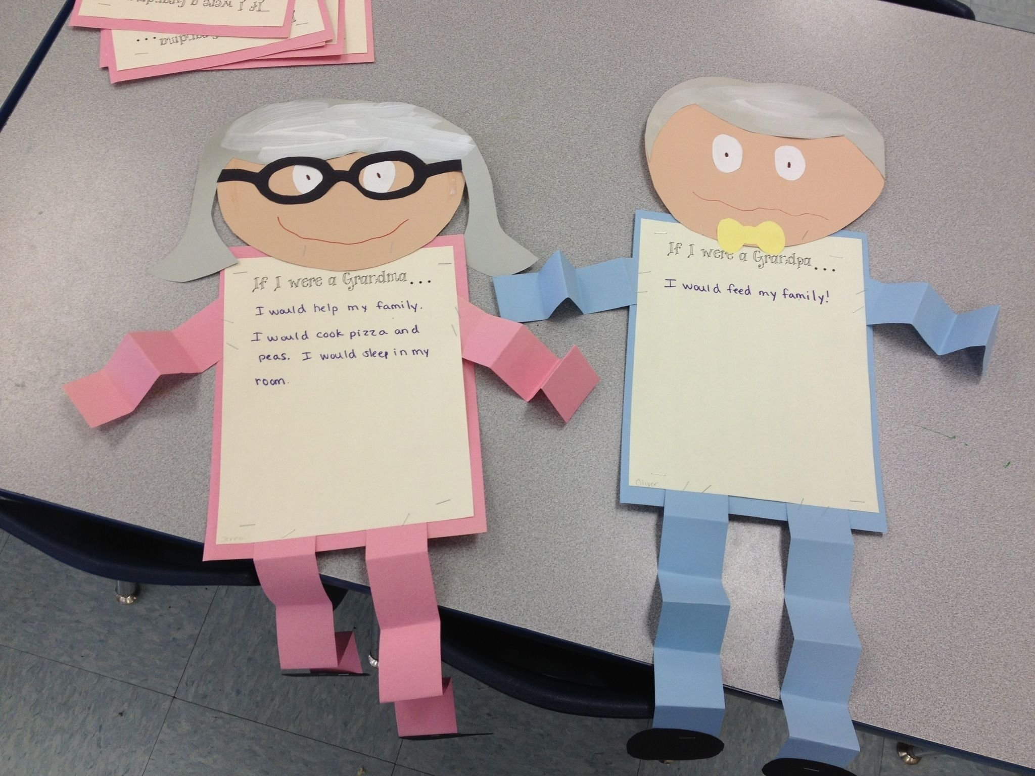 10 Unique Grandparents Day Ideas For School great project to display for grandparents day great craft ideas 2020